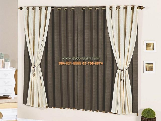 cortinas para sala pequena preta 1