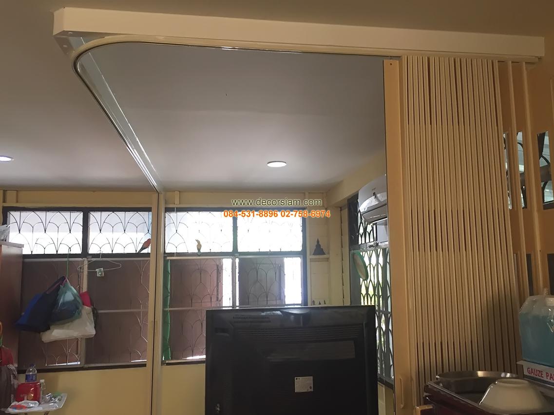 ฉากกั้นห้องแบบญี่ปุ่น สามารถเปิด ปิดแบบสองฝั่ง