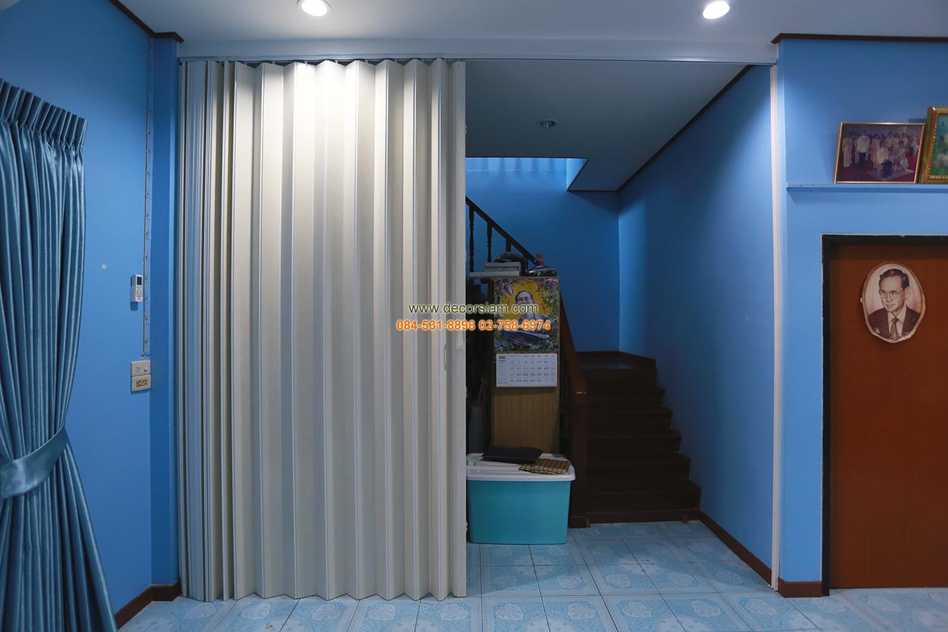 ฉากกั้นห้องแบ่งสัดส่วนบ้านบางปู