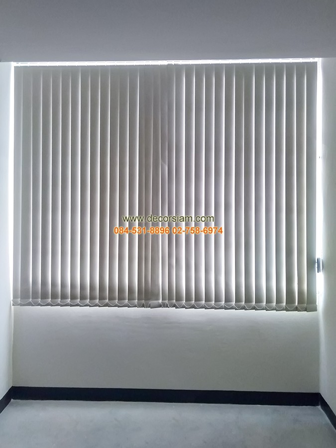 ม่านปรับแสงติดห้องทำงาน